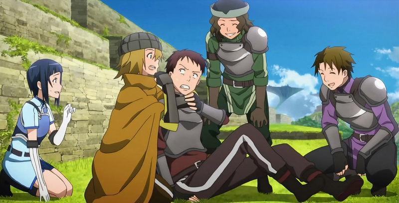 ¿Cuál es el primer gremio de Kirito?