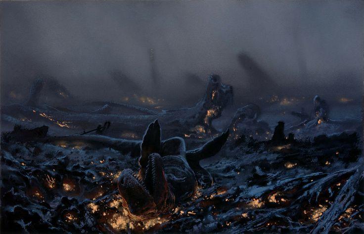 En el PALEOCENO, después de la crisis que acabó con los dinosaurios, ¿quién tomó su lugar como grandes depredadores terrestres?