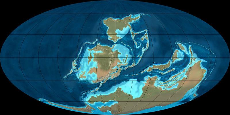 ¿Cuál se cree que es el mayor y primer desencadenante de las extinciones (marinas) del final del DEVÓNICO?
