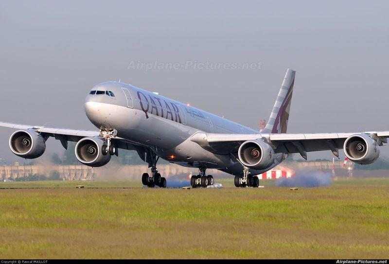 ¿Qué modelo de Airbus A340 es este?