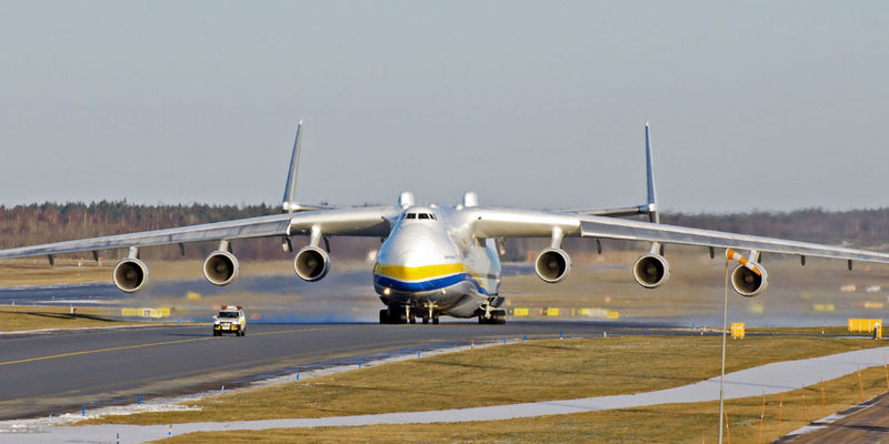 Este es el avión más grande del mundo. ¿Sabes su nombre?
