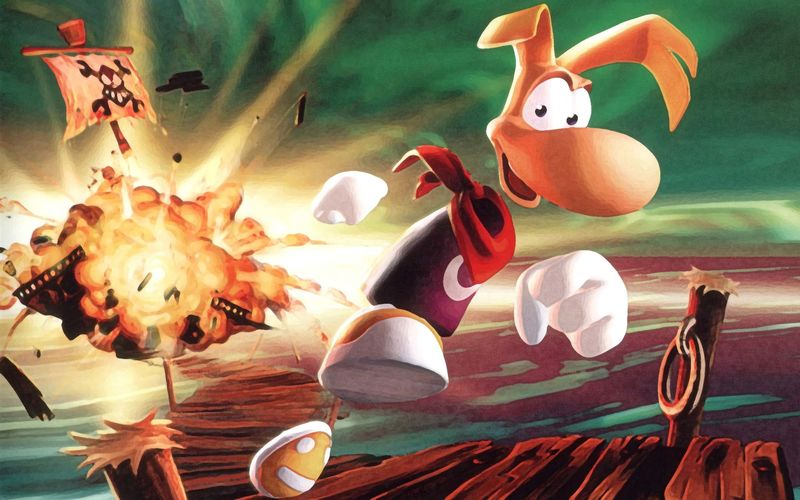 ¿Cuál fue el primer juego de Rayman en 3D?
