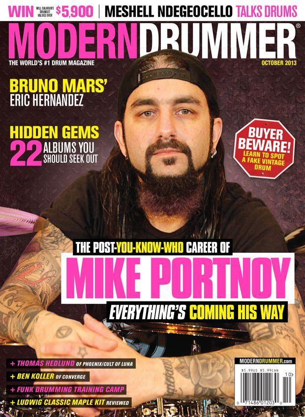 ¿Cuántos premios ha ganado desde la revista Modern Drummer?
