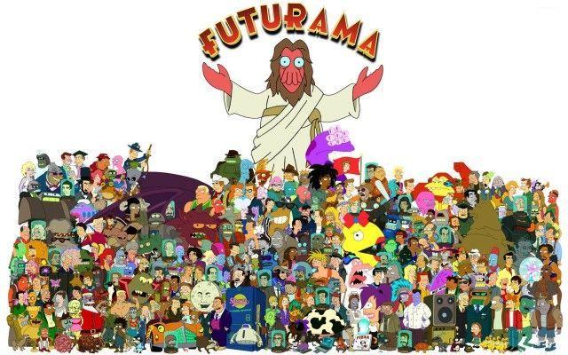 16713 - Personajes secundarios de Futurama: ¿Cuántos reconoces?