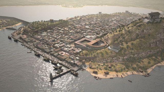 ¿En qué año conquistaron los romanos la ciudad de Qart Hadasht (actual Cartagena)?