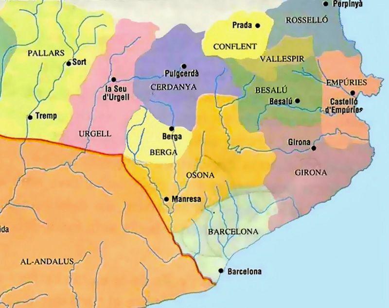 ¿Qué conde catalán consiguió que todos los condados catalanes fueran vasallos del condado de Barcelona?