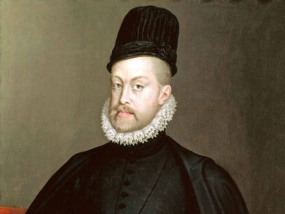 ¿A quién sucedió Felipe II en el trono?
