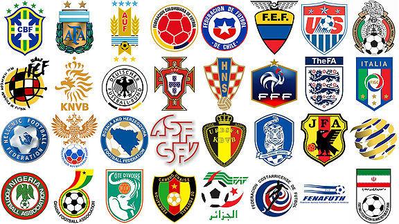 16783 - ¿Reconoces por sus apodos a todas estas selecciones de fútbol?