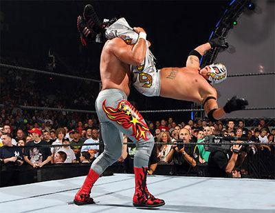 16813 - Test sobre lucha libre, Wrestling