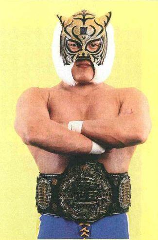 ¿Quién fue el primer portador de Tiger Mask?
