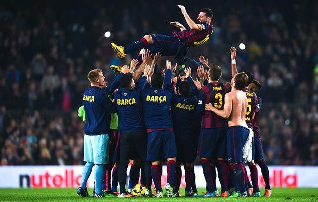 ¿Contra qué rival superó Messi el récord de Zarra como máximo goleador de la Liga española?