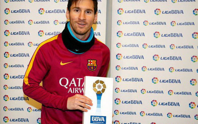 ¿Cuántas Ligas BBVA ha ganado Messi?