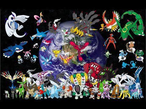 16855 - ¿Puedes reconocer estos Pokémon legendarios de distintas generaciones?