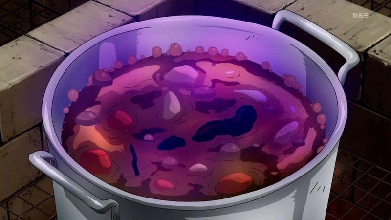 ¿Qué ingrediente NO utilizaron Chie y Yukiko en la creación del Mystery Food X (el curry tóxico)?