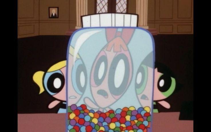 ¿Cuál es el título en inglés del capítulo donde el Alcalde recompensa a las chicas por su trabajo dándoles caramelos?