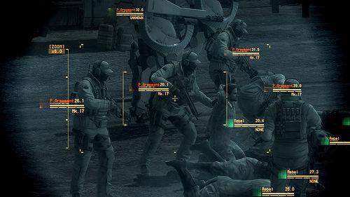Un grupo de inocentes, el enemigo parece dispuesto a ejecutarles, no parece que puedan pelear, así que no son aliados. ¿Qué haces?