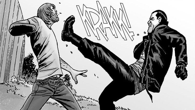 ¿Cómo acaba siendo derrotado Negan?