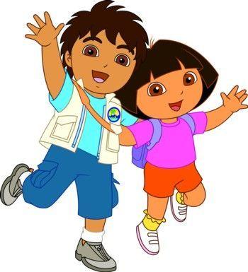 ¿Qué tipo de relación tiene Diego con Dora la exploradora?