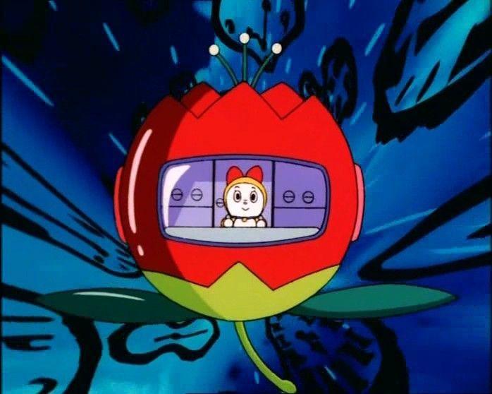 En Doraemon, ¿dónde se ubica la máquina del tiempo?
