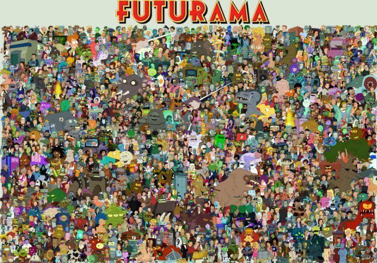 16987 - Personajes secundarios de Futurama: ¿Cuántos reconoces? [Parte 2]