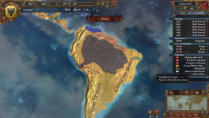 Tu flota ha mejorado y en una expedición, ¡Han descubierto nuevo mundo! Hay indígenas, recursos, minerales,...