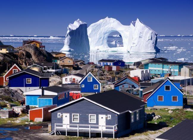 Capital de Groenlandia.