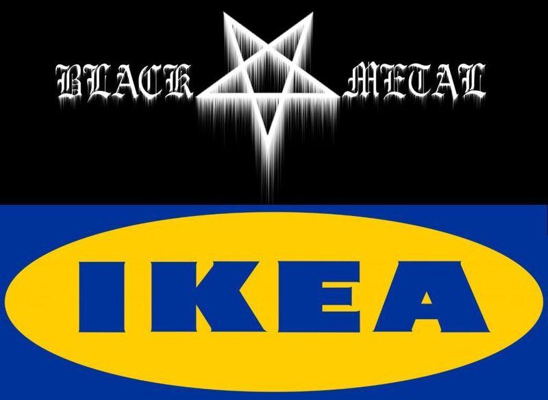 17144 - ¿Mueble de IKEA o grupo de black metal?