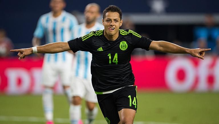 ¿Cuántos goles ha anotado con México?