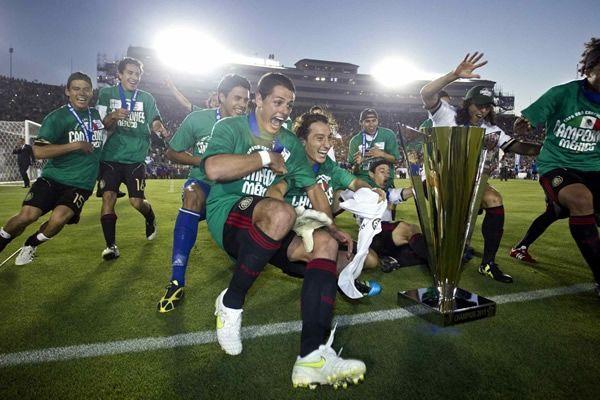 ¿En qué Copa Oro se coronó campeón goleador?