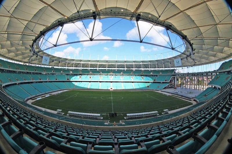 Estadio de fútbol con mayor capacidad.