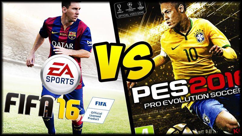 Qué prefieres tener antes: PES o FIFA?