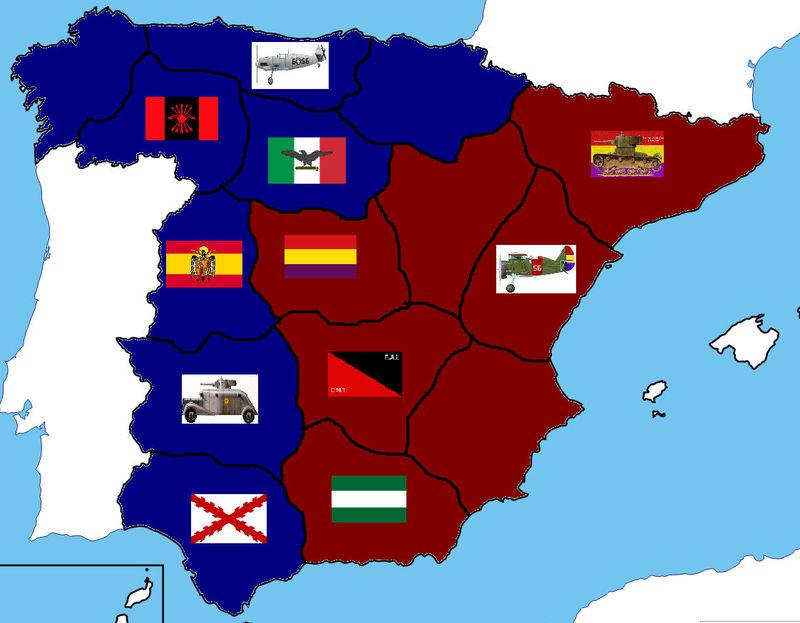 Han acabado con las tropas vascas. Vamos con las tropas de Madrid. ¿Qué haces?