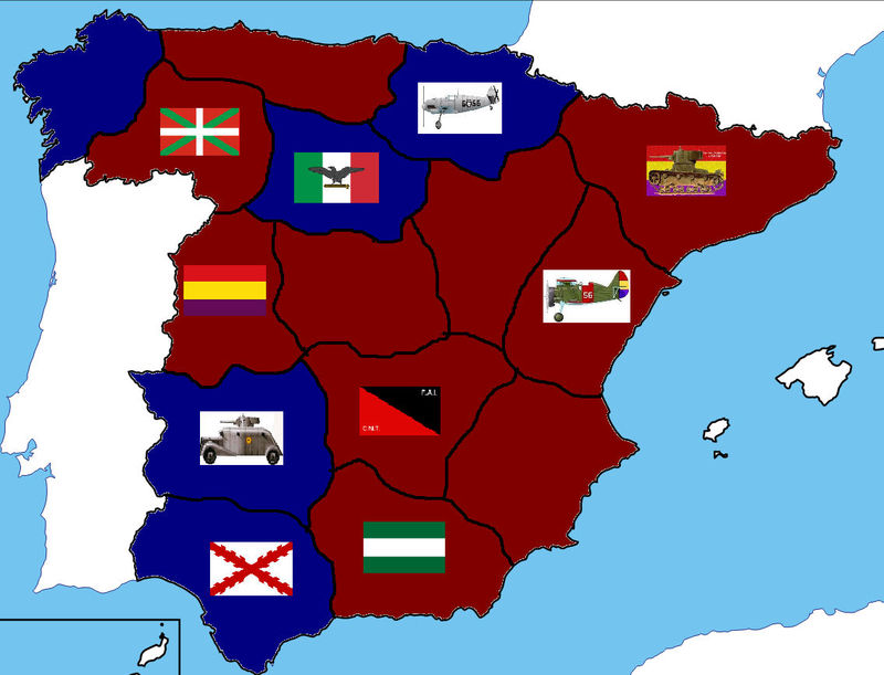 ¡Provincias conquistadas! Ahora con los voluntarios andaluces. ¿Qué haces?