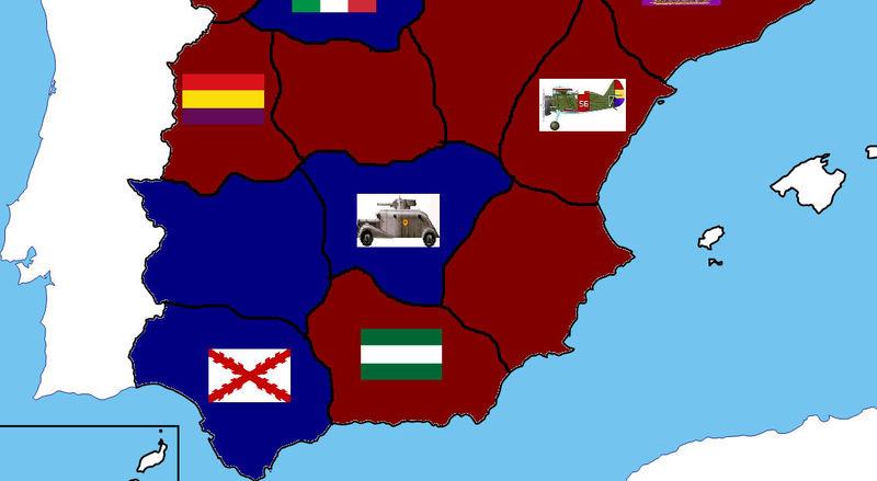FIN DEL JUEGO. Al tener tropas blindadas han derrotado a los anarquistas. Francia ha decidido entrar en la guerra.