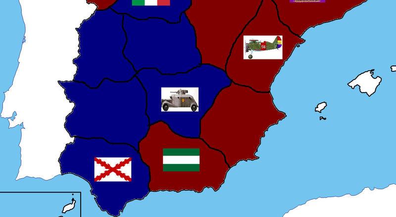FIN DEL JUEGO. Franco ha obtenido un avance estratégico que decidirá el destino de la guerra.
