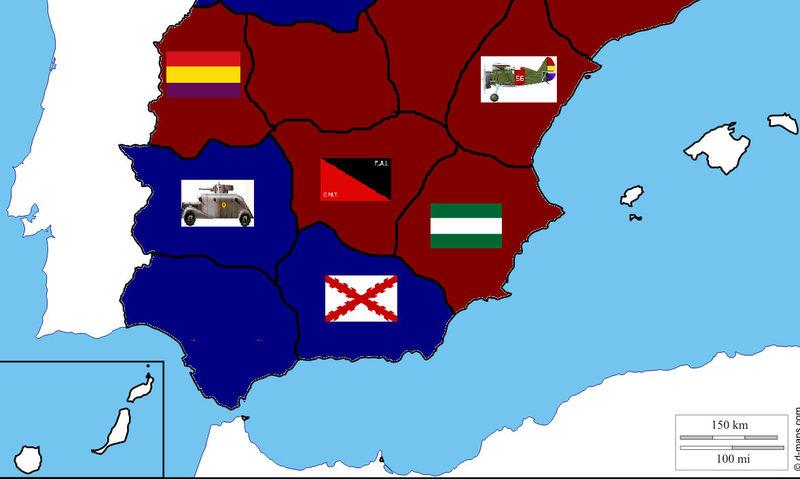 FIN DEL JUEGO. Franco ha recibido tropas moriscas para continuar la guerra un año más.