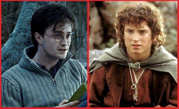 Harry Potter vs Frodo Bolsón