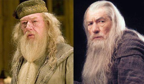 Albus Dumbledore vs Gandalf