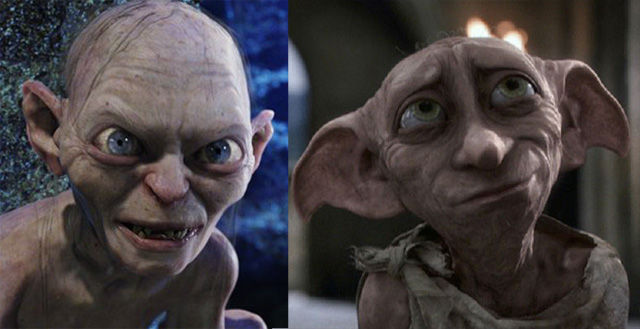 Dobby vs Gollum