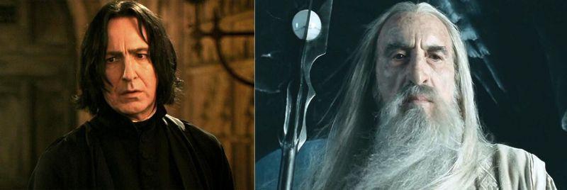 Severus Snape vs Saruman
