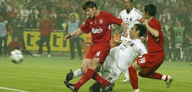 Milan vs Liverpool, final de la Champions (25/05/2005)