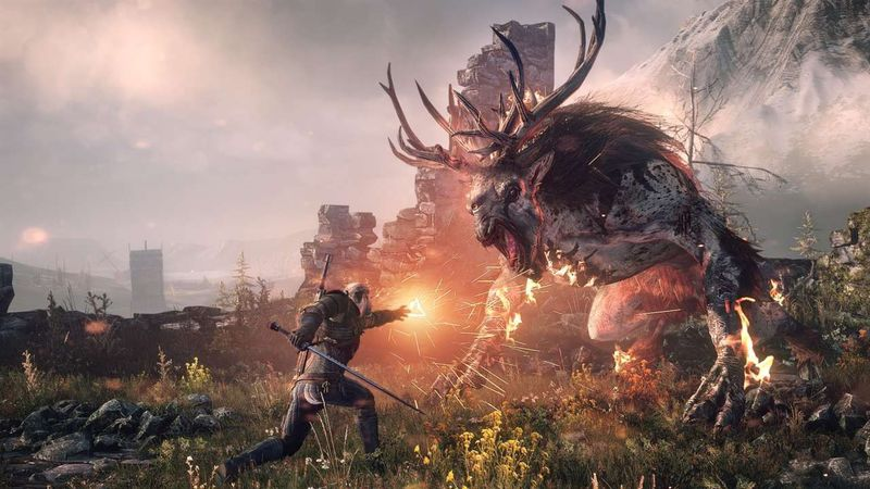 ¿Cómo se llaman los poderes que tienen los brujos y cuáles son los que tiene Geralt de Rivia?