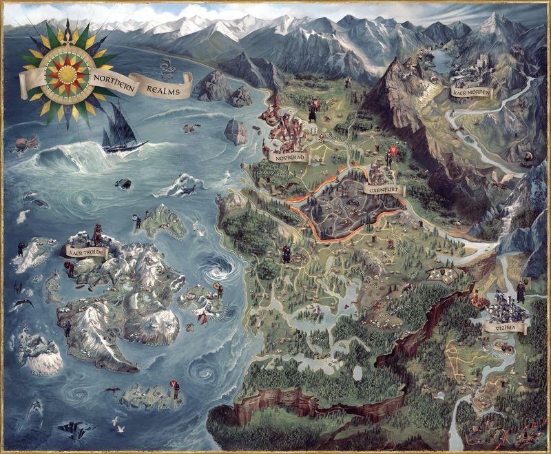 ¿Como se llama el continente donde transcurre la historia?