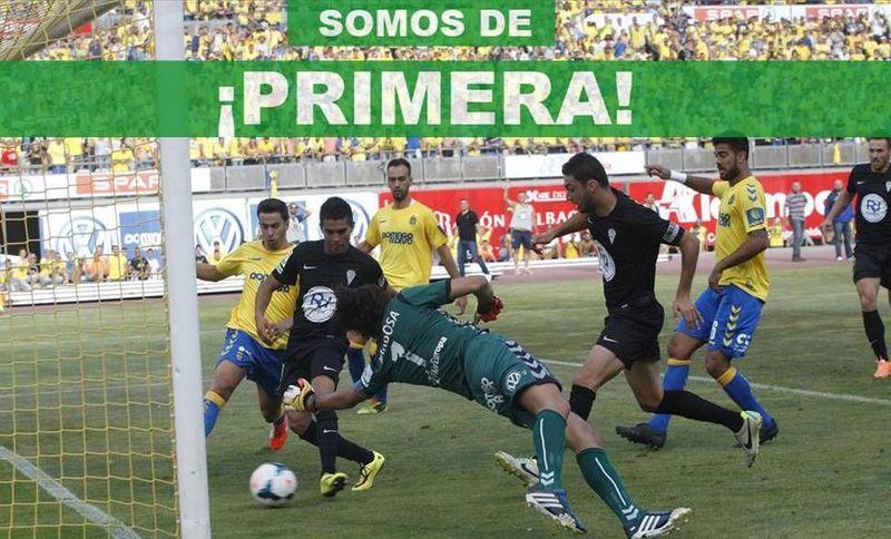 En el último ascenso en 2014, ¿quién marco el gol que le dio el ascenso al Córdoba?