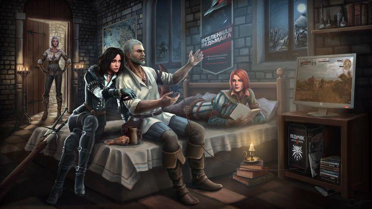 ¿Quienes han sido las dos principales amantes de Geralt de Rivia hasta el momento?