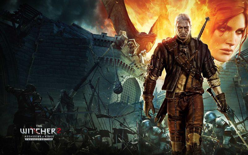 (The Witcher 2) ¿Con qué importante suceso empieza el segundo videojuego?