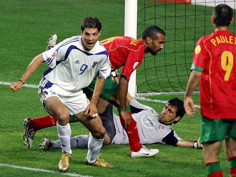 Portugal vs Grecia, final de la Eurocopa (04/06/2004)