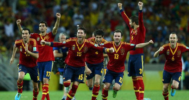 España vs Italia, Copa Confederaciones (27/06/2013)