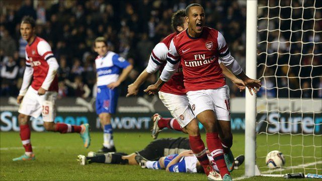 Reading vs Arsenal, Capital One Cup (30/10/2012)