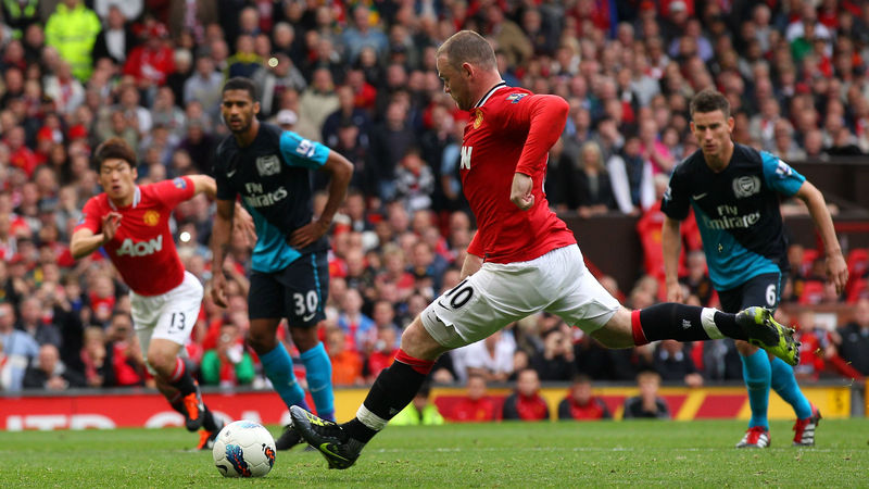 Manchester United vs Arsenal, Premier League (28/01/2011)